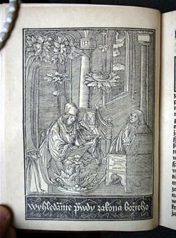 Ilustrace: Martin Luther - dílo