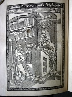 Ilustrace: Martin Luther - život